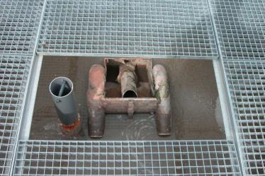 Rohabwasserbeschicker 2. Stufe