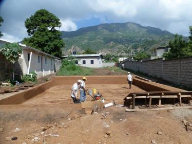 Kläranlage für eine Schule und ein Waisenhaus in Haiti