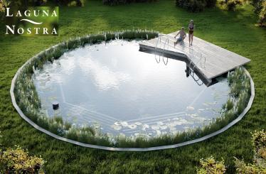 Nymphenbad - ein Schwimmteich, der keine Wünsche offen lässt